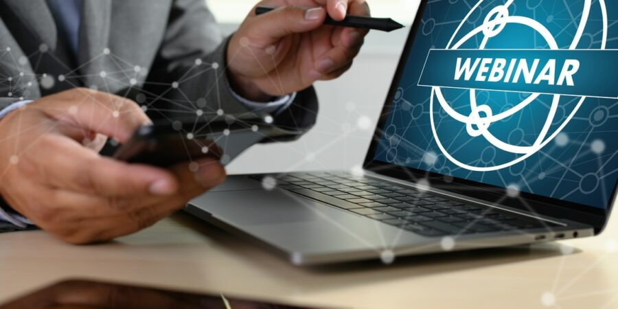 O que são webinars?
